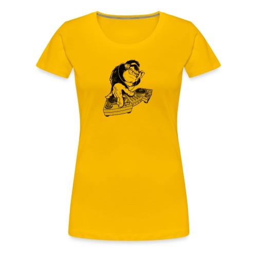 Ape DJ - Premium T-skjorte for kvinner