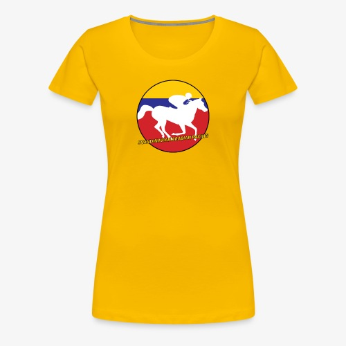 SARA logo round - Premium-T-shirt dam