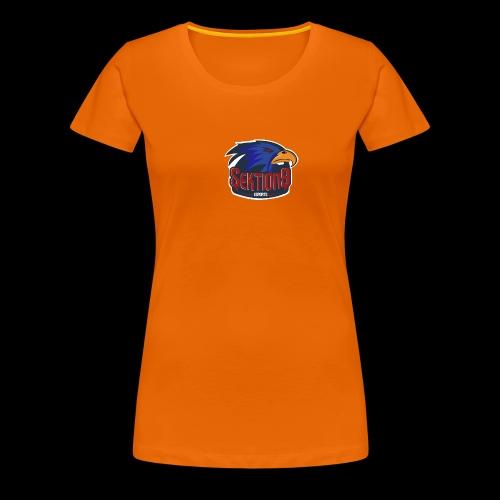 Sektion9 Dunkelblau - Frauen Premium T-Shirt