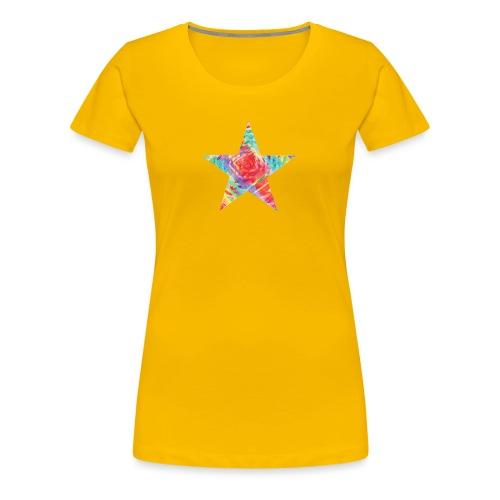 Color star of david - Women's Premium T-Shirt