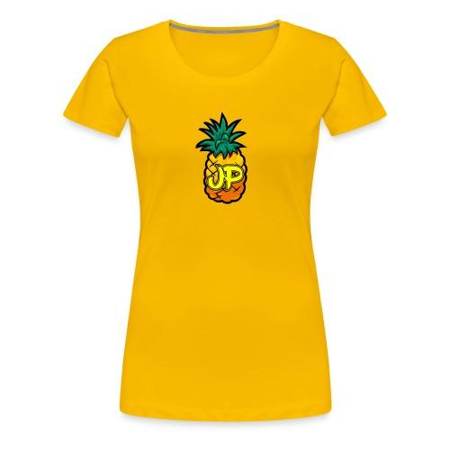 Just Pine Logo Yellow - Women's Premium T-Shirt