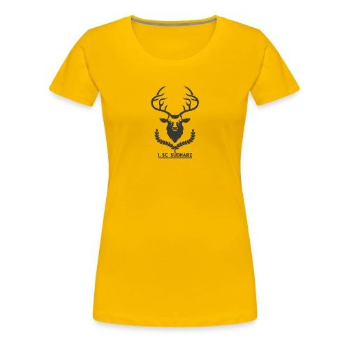 1 SC Suedharz transparent - Frauen Premium T-Shirt