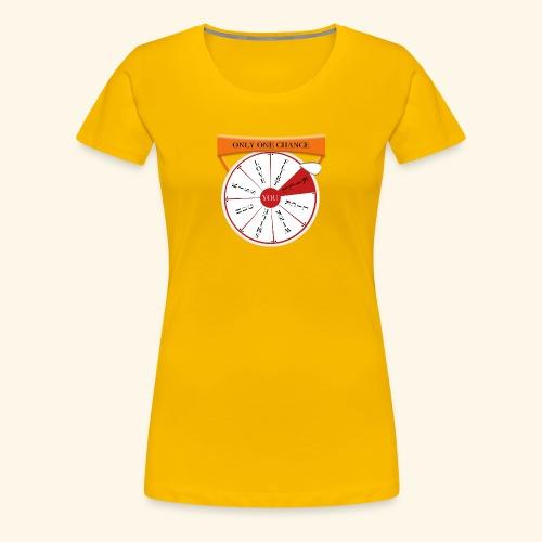wheel of fortune? - Maglietta Premium da donna