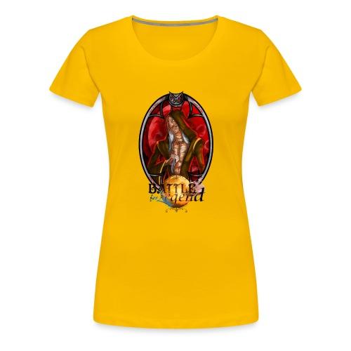 Battle for Legend : Faburius le Fourbe - T-shirt Premium Femme