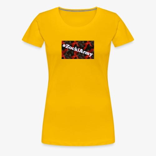 #ZockiArmy - Frauen Premium T-Shirt