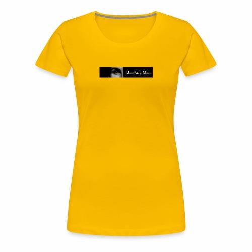BGM || iPhone Case - Frauen Premium T-Shirt