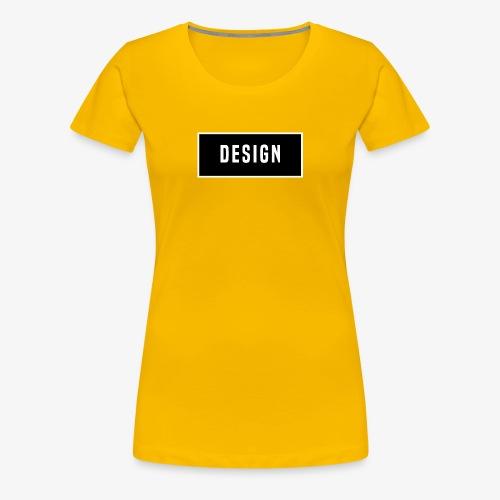 design logo - Vrouwen Premium T-shirt
