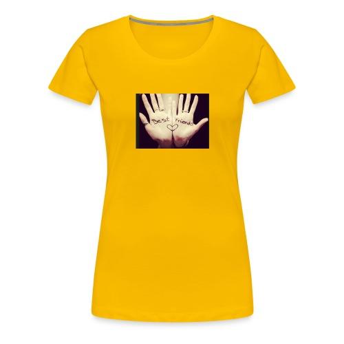 Best friends et deux mains ! - T-shirt Premium Femme