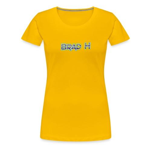 Official Brad H Logo - Women's Premium T-Shirt