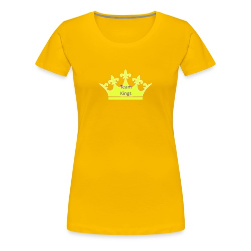 Team King Crown - Women's Premium T-Shirt