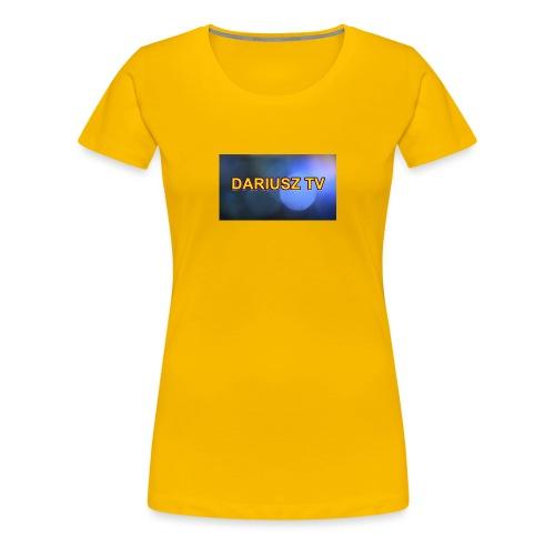 DARIUSZ TV - Koszulka damska Premium