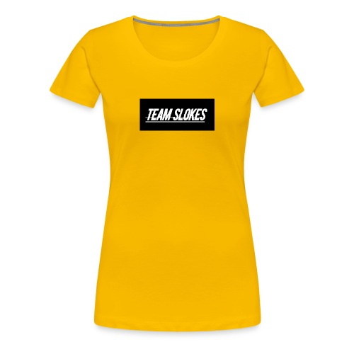 team slokes - Women's Premium T-Shirt