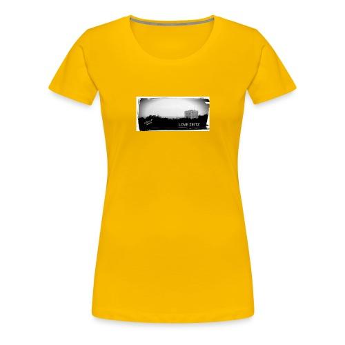 Zeitzer Skyline - Frauen Premium T-Shirt