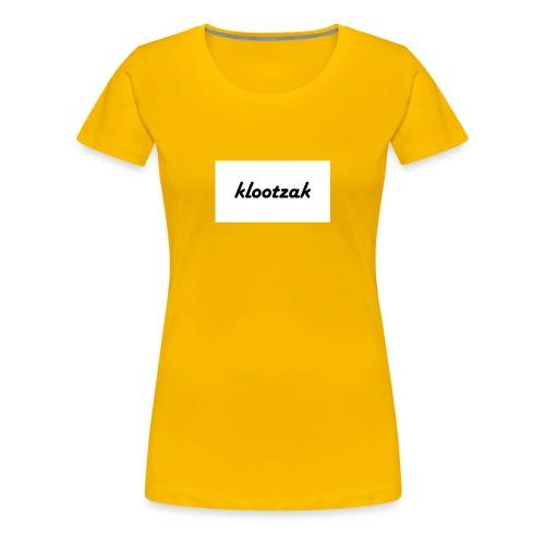 klootzak - Vrouwen Premium T-shirt