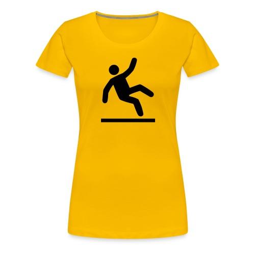 Liukas lattia - Naisten premium t-paita