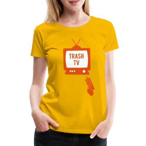 Trash TV - Maglietta Premium da donna