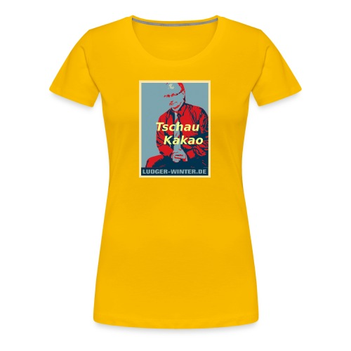 Ludger Winter Fan Foto 1 4 1 - Frauen Premium T-Shirt
