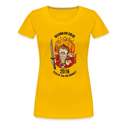 Fire monkey - Women's Premium T-Shirt