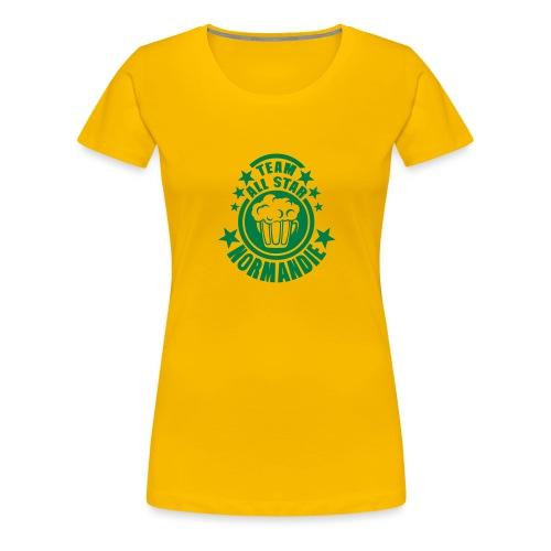normandie team all star biere alcool 15 - T-shirt Premium Femme