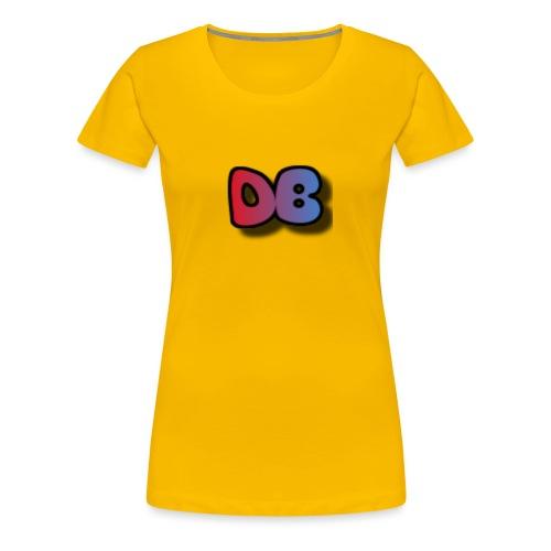 Double Games DB - Vrouwen Premium T-shirt