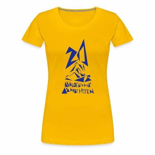 20th SCM Fragment - Frauen Premium T-Shirt
