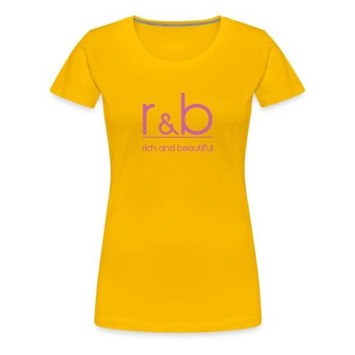 r&b - Frauen Premium T-Shirt