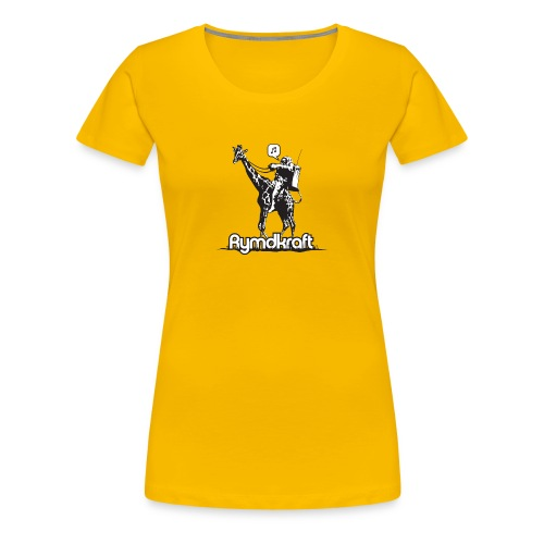 Rymdkraft Basic Happy Astronaut Tee - Women's Premium T-Shirt