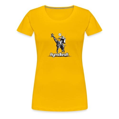 Rymdkraft Basic Happy Astronaut Tee - Women's Premium T-Shirt