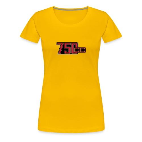 750ccm Hubraum - Frauen Premium T-Shirt