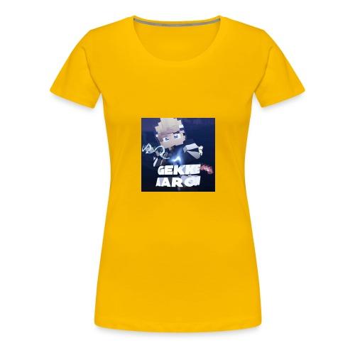 Gekke Aaron - Vrouwen Premium T-shirt