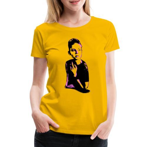 WOKE (pink) - Dame premium T-shirt