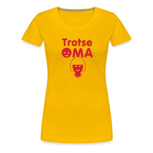 oma - Vrouwen Premium T-shirt