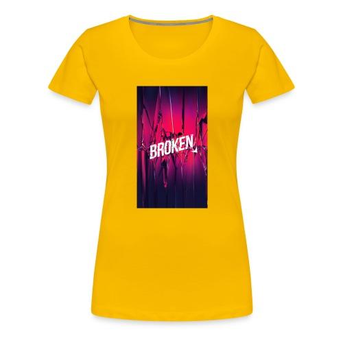 Broken T-Shirt - Frauen Premium T-Shirt