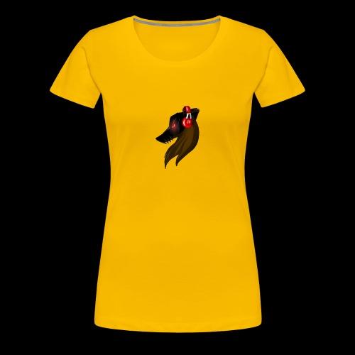 Shadow Wolf Logo - Frauen Premium T-Shirt
