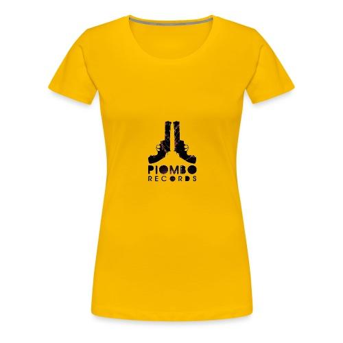 PIOMBO RECORDS - Maglietta Premium da donna