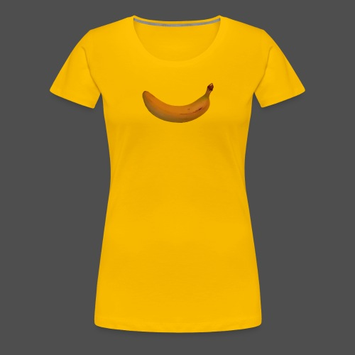 Banane 0PD04 - Women's Premium T-Shirt