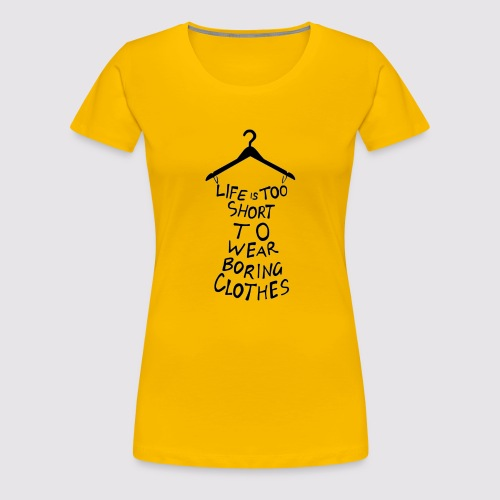 Life - Maglietta Premium da donna