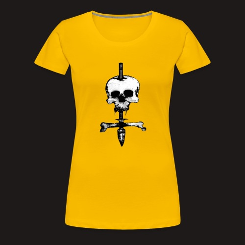 Skull Symbol - Frauen Premium T-Shirt