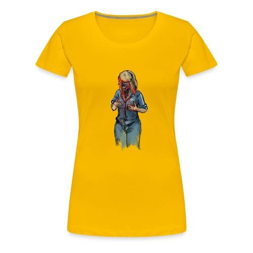 Zombie Mocking - Frauen Premium T-Shirt