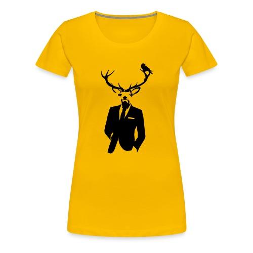 Reindeer Suit - Women's Premium T-Shirt