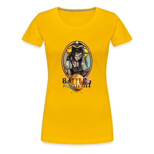 Battle for Legend : Surdouée - T-shirt Premium Femme