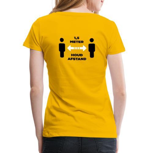 facet afstand 2 - Vrouwen Premium T-shirt