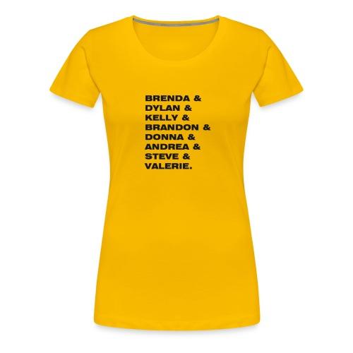 SERIES ADDICTED - 90210 - Maglietta Premium da donna