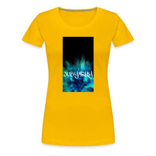 JUSYARMY PULLOVER - Frauen Premium T-Shirt