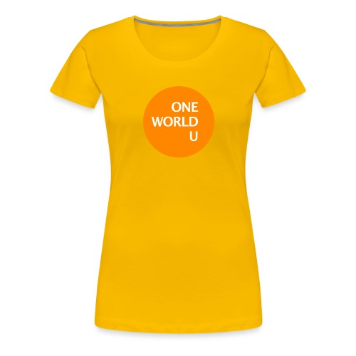 owu orange - Frauen Premium T-Shirt