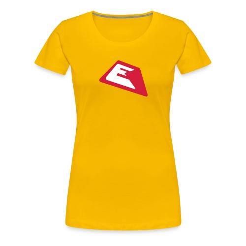 ek logo single03 2color - Frauen Premium T-Shirt