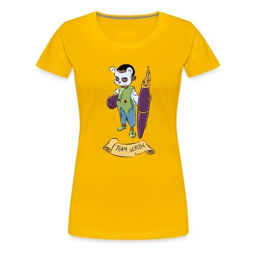 team scribe - T-shirt Premium Femme