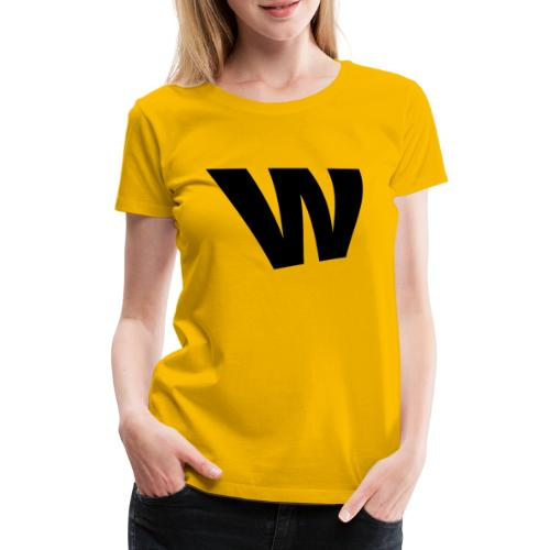 W black - Women's Premium T-Shirt