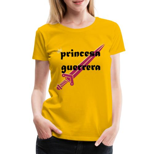 PRINCESA GUERRERA4 - Camiseta premium mujer