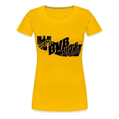 Supps-Bocholt groß - Frauen Premium T-Shirt